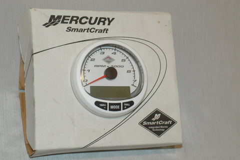 Mercury Quicksilver 79-879897-B27 smart craft tachometer replacement gauge no harness - MARINESURPLUS.COM