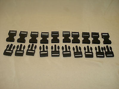 Astrup 10 pair BSR-1A snap clip buckle for ski vests luggage, backpacks hiking Odds and Ends part from MarineSurplus.com