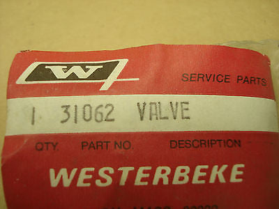 Genuine Westerbeke valve 31062  JHW-031062 Odds and Ends part from MarineSurplus.com