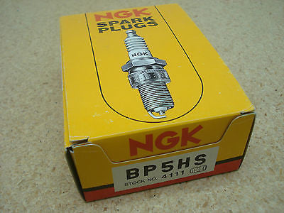 NGK BP5HS  stock # 4111 spark plugs Box of 10  BNGK3 Spark Plugs part from MarineSurplus.com