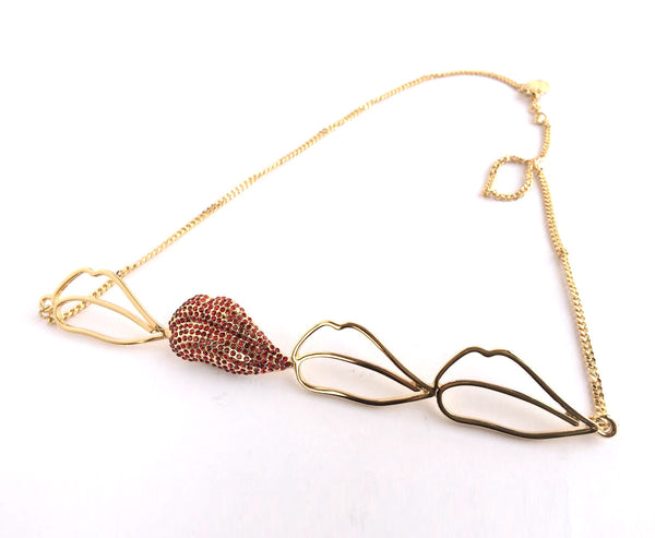 Kiss Me, Now Necklace