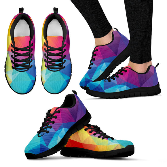 Colorful Rainbow Gay Pride Sneakers and Casual Shoes