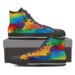 Gay Pride Canvas Shoes - High Top, Low Top and Casual