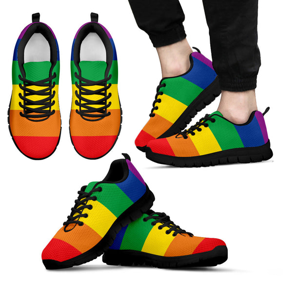 Rainbow Pride Sneakers