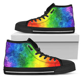 Rainbow Pride Canvas Shoes