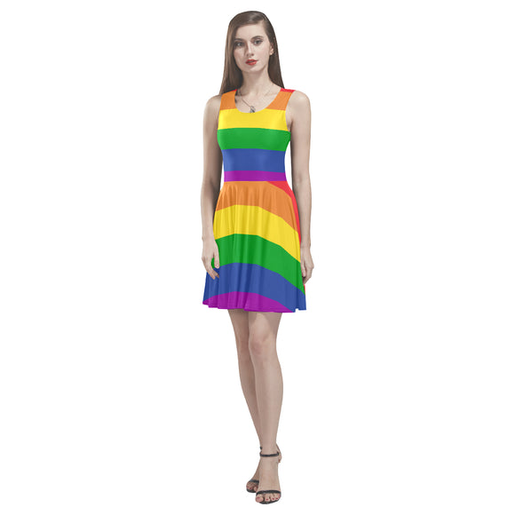 Rainbow Ladies Thea Sleeveless Skater Dress