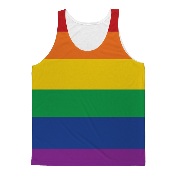 Rainbow Color Gay Pride Sublimation Vest