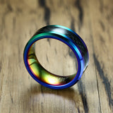 Stunning Rainbow Pride Ring