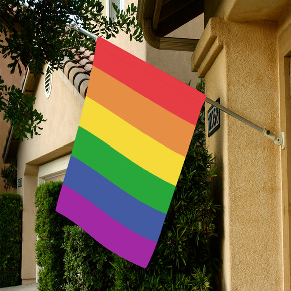 Rainbow Pride Garden Flag Garden Flag 28''x40'' (Without Flagpole)