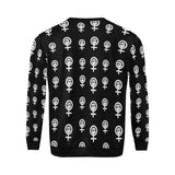 LGBT Pride Symbol Print All Over Print Crewneck Sweatshirt for Men/Large