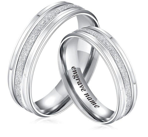 Personalized Promise Ring Valentine's Day Gift
