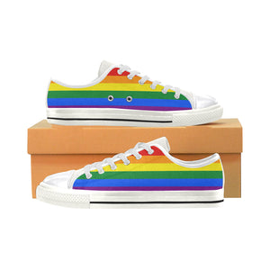 Rainbow Pride Low Top Canvas Shoes