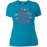 Love Outside The Box tshirt for women LGBT Pride women tshirt