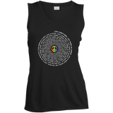 """Pride Month Peace"" Special women sleeveless tshirt LGBT Pride Peace symboll womens tshirt"