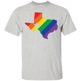 Rainbow Texas Pride Shirt for men