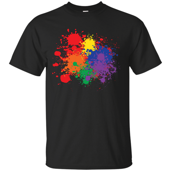Rainbow Splash - Vibrant Gay Pride