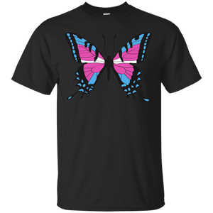 Trans Pride Butterfly tank top| Unique Design Trans Pride tank top for women