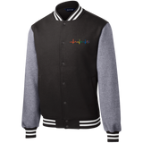 best Rainbow Heartbeat Gay Pride Jacket for men