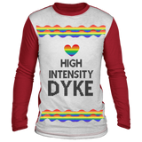 High Intensity Dyke Ugly Christmas Sweater