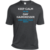 Keep Calm I'm The Gay Hairdresser dark grey for Men