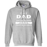 I'm a Gay Dad, just like any other Dad, grey Hoodie for Men & Women Gay Pride grey Hoodie for Men & Women