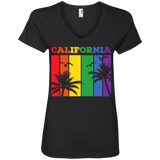 California Rainbow Strips Pride T-Shirts & Shirt