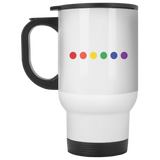 Rainbow Pride Travel Mug and Water Bottle