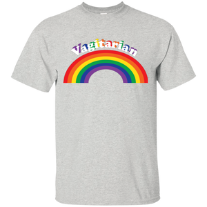 Vagitarian...Funny Gay Pride Shirt