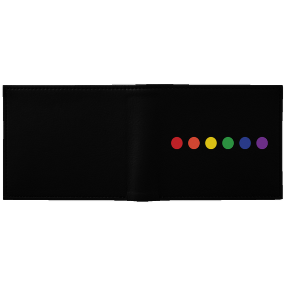 Rainbow Dots Pride Wallet