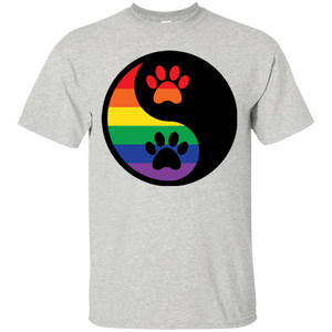 Rainbow Paw Yin Yang Pet Shirt