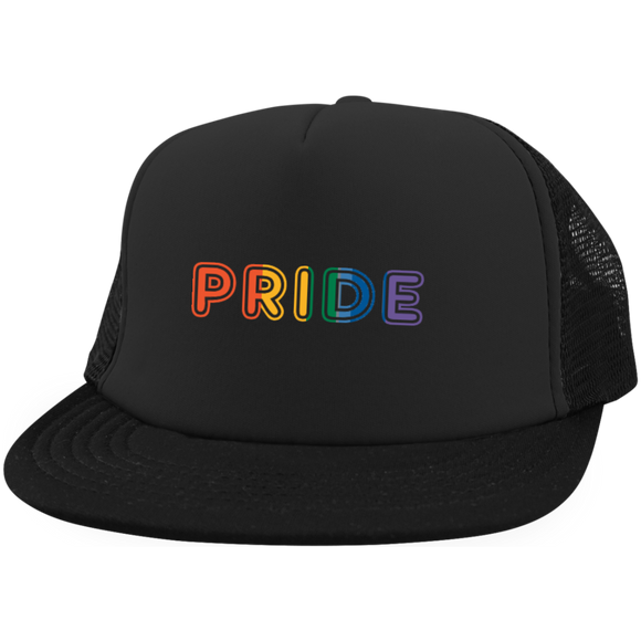 Pride Trucker Hat with Snapback