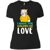 I have the colors of love pride shirt