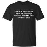 World has bigger problems than Boys who kiss Boys and Girls who kiss Girls