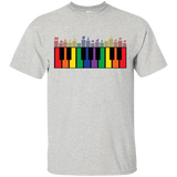 """Music Binds Love"" Rainbow Shirt"
