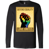 """Defend Equality, Love Unites"" LGBT Shirt"