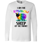 """I Am The Rainbow Sheep Of The Family""  White Union Pride T-Shirts"