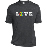 Love Peace symboll Gay Pride Shirt LGBT Pride tshirt for Men