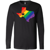 Rainbow Texas Pride full sleeves Shirt for men texas print on mens full sleeves tshirt