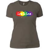 """Love is Love"" T Shirt for women LGBT Pride Equality tshirt for women"