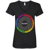 "The ""Pride Month"" Special Shirt LGBT Pride v-neck shirt for women"