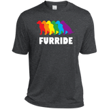 FURRIDE....Pride dark grey tshirt for men | pet lover tshirt