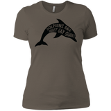 Dolphins are Just Gay Sharks Funny LGBT T Shirt | funny quote LGBT Shirt for Men & Women