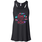 Love Outside The Box black Tank top for women LGBT Pride women black tank top