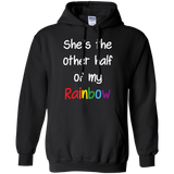 black color lesbian couple hoodie for women