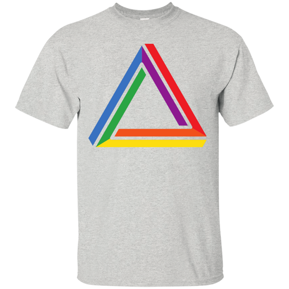 Funky Gay Pride Shirt Round Neck Half Sleeve Grey Color grey tshirt for gay