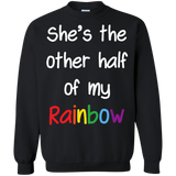 She's the other half of my Rainbow Lesbian Couple Shirt