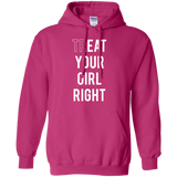 pink funny quoted hoodie for girls/women/lesbian