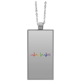 Rainbow Heartbeat Necklace