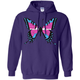Trans Pride Butterfly pink hoodie for men & women | Unique Design Trans Pride pink hoodie for men & women