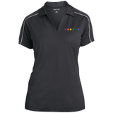 Rainbow Pride Womens Polo